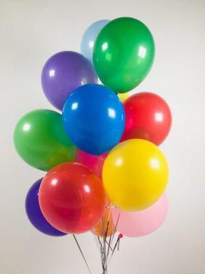 Гелиевые шарики размер 26 см