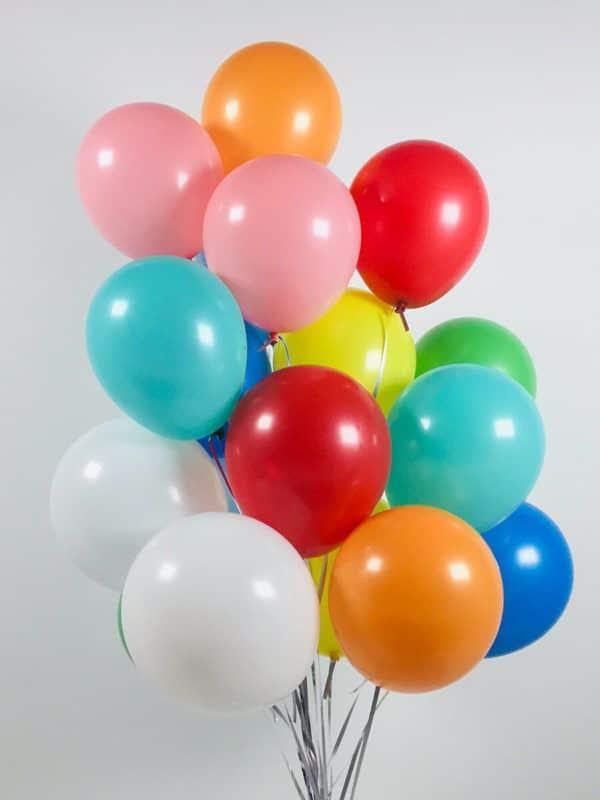 Латексные шарики 9 дюймов