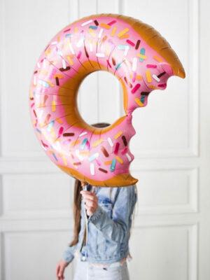 Фольгированный шар пончик