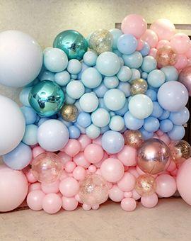 Фотозоны из воздушных шаров
