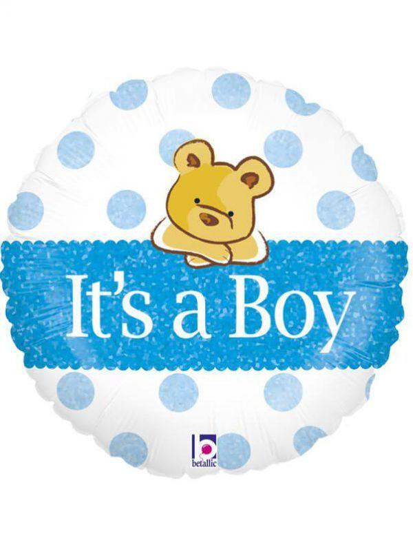 """Ведмедик """"Це хлопчик"""" Розмір: 18 """"(46 см)"""
