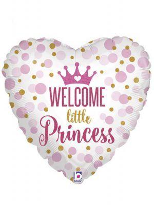 "Корона принцессы ""Ты родилась"" Размер: 18″ (46 см)"