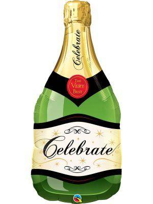 Фольгированный шар: Бутылка шампанского