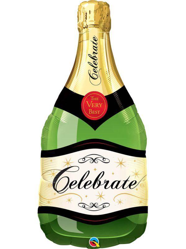 Фольгований шар: Пляшка шампанського