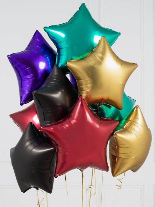 Фольгированные шарики без рисунка