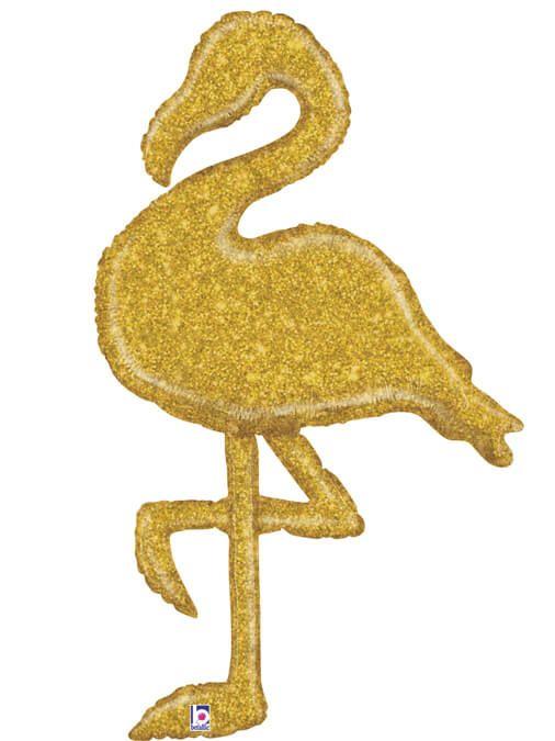 Фламинго золотой Размер: 44″ (110 см)