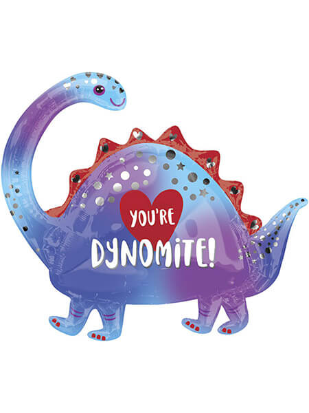 """Динозаврик """"Ты динамит"""" Размер: (35"""") 87 см"""