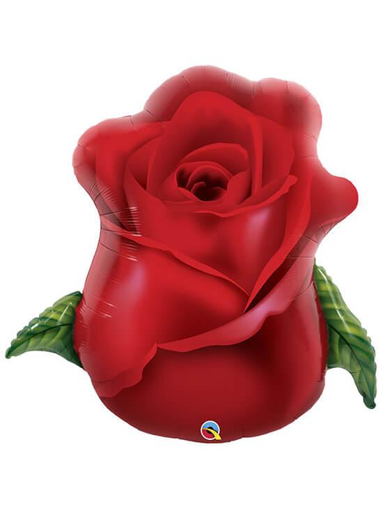 """Роза червона Розмір: (33 """") 84 см"""