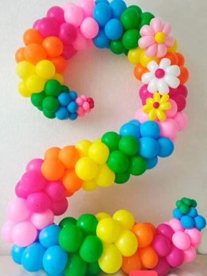 Цифра из шаров