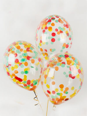 Кульки з конфетті Осіннє асорті