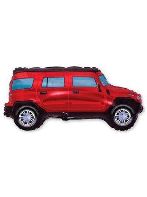 Джип красный Размер: 85 см