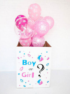 Коробка с шарами «Boy or Girl»