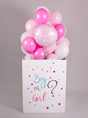 Коробка с шарами «Мальчик или девочка»