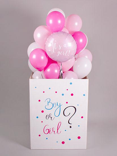 Коробка з кулями «Хлопчик чи дівчинка»