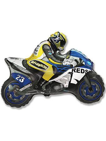 Мотоциклист синий Размер: 84 см