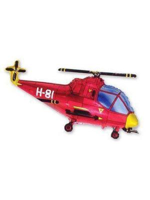 Вертолет красный Размер: 96 см