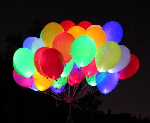 Набор светодиодные шары