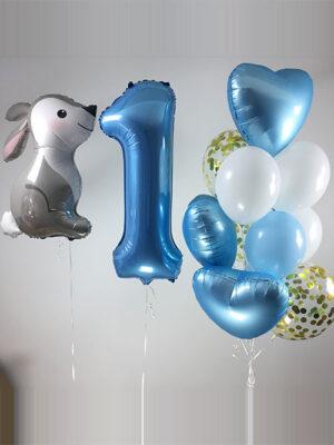 Кульки хлопчикові на рік «Кролик лісової»