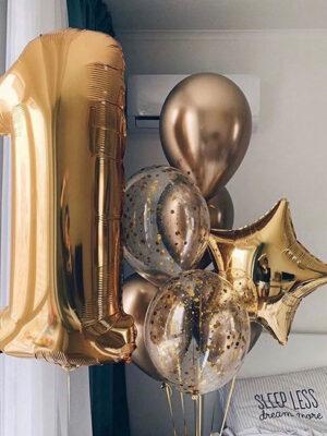 Кулі на один рік «Золото хром»