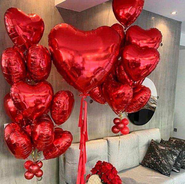 Кульки до Дня Святого Валентина